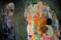Death and Life 1910/1915, Gustav Klimt. Leopold Museum, Vienna. Austria
