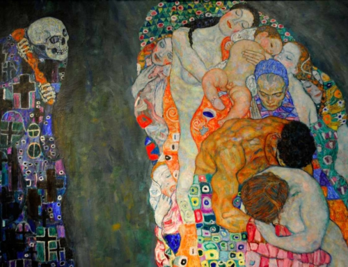 "Gustav Klimts ""Death and Life"""