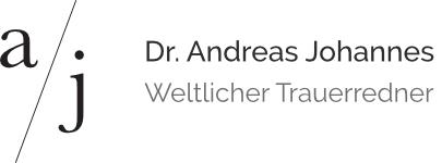 Dr. Andreas Johannes – Trauerredner München Logo