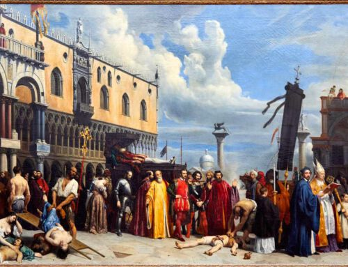 Alexandre Hesse «Les funérailles du Titien»